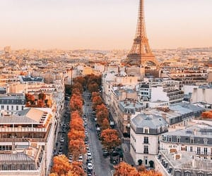 autumn, beautiful, and city image