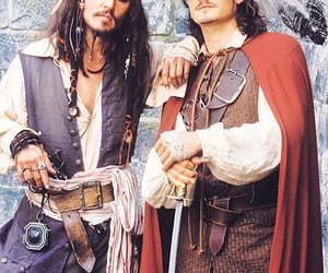 jack sparrow, pirates of the caribbean, and johnny deep image
