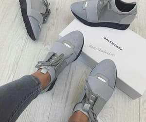 Balenciaga, estilo, and grey image