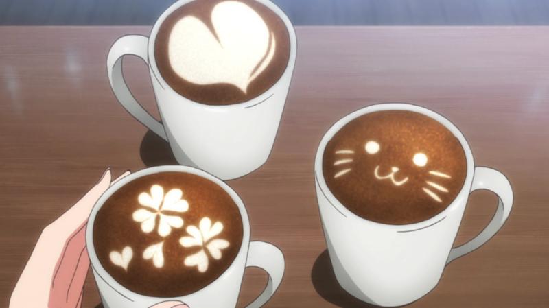 anime, coffee, and food image