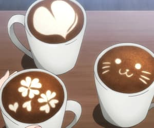 anime, coffee, and food image