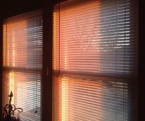 aesthetic, window, and orange image