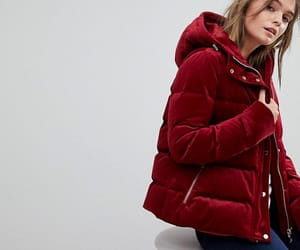 coat, hooded, and tommy hilfiger image