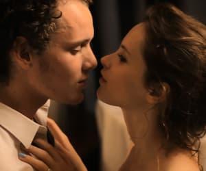 hair, kissing, and kiss image