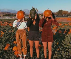 fashion, girls, and orange image