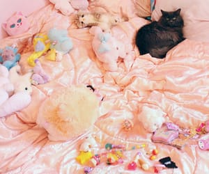 cats, doll, and dolly image