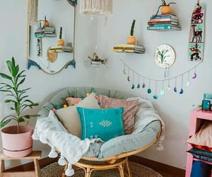 baby blue, chair, and decor image