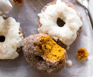 donuts and pumpkin image