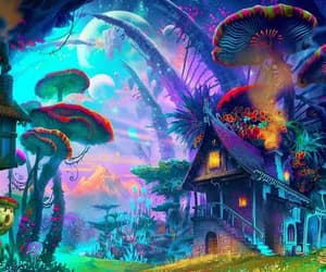 colorful and trippy image
