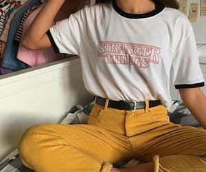 fashion, stranger things, and outfit image
