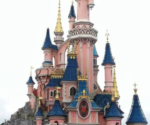 disneyland, paris, and pink image
