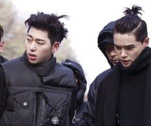 dean, hyuk, and kwon hyuk image