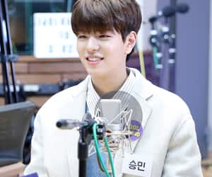 brown hair, 승민, and idol radio image
