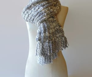 etsy, winter scarf, and long scarf image
