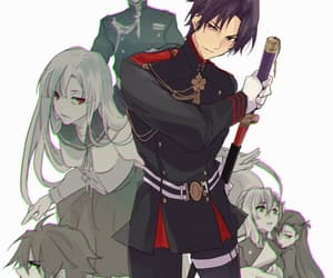 anime, owari no seraph, and seraph of the end image