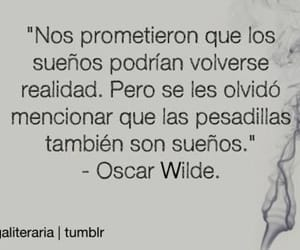 frases, Dream, and oscar wilde image