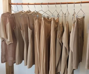 clothes, aesthetic, and brown image