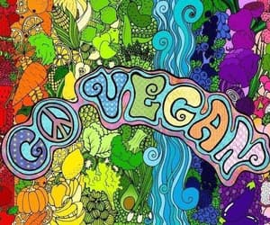 colorful, hippie, and psychodelic image
