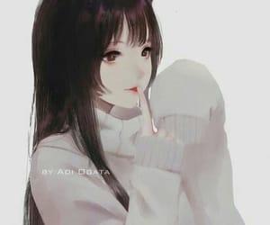 anime girl, cat girl, and cute girl image