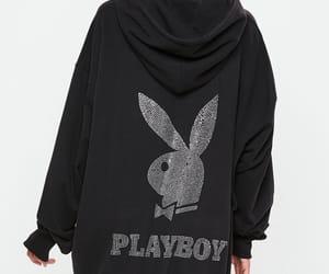 black, fashion, and Playboy image