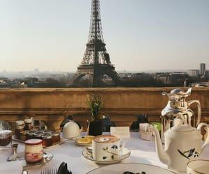 paris, breakfast, and eiffel tower image