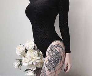tattoo, black, and dark image