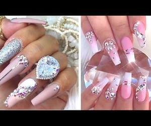nail polish, video, and uñas image