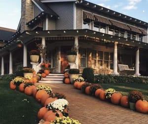 pumpkin, autumn, and house image