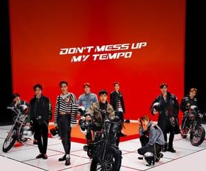 exo, exol, and kpop image