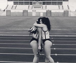 athletics, friendly, and sport image