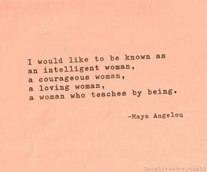 quotes, woman, and maya angelou image