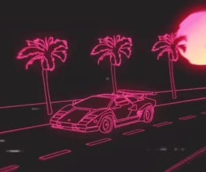 car, gif, and retro image