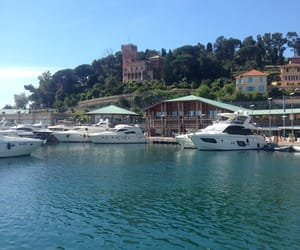 bateau, travel, and mer image