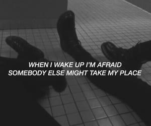 afraid, edit, and Lyrics image
