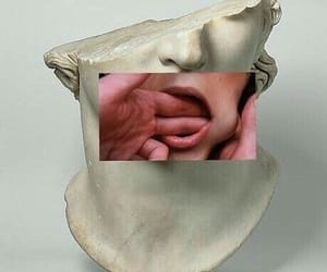 art, aesthetic, and mouth image