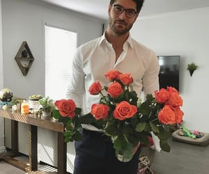 nick bateman, boy, and rose image