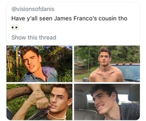 attractive, dave franco, and cousin image