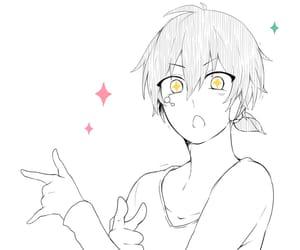 anime, kagerou project, and kuroha image