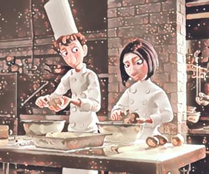 baking, chef, and cooking image