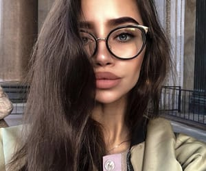 babe, fashion, and lips image