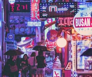 asia, korea, and night image