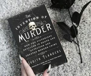book, black, and murder image