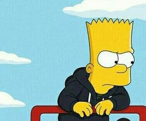 bart simpson, the simpsons, and wallpaper image