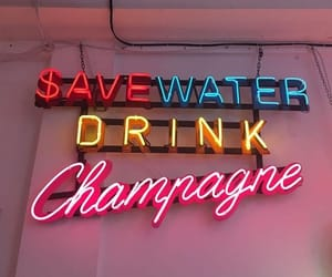 champagne, quotes, and drink image