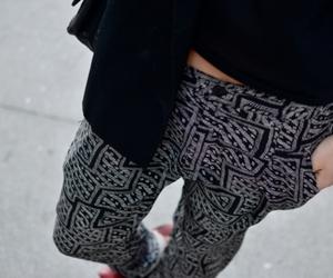 fashion, aztec print, and pant image