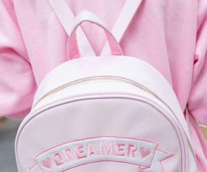 pink, dreamer, and bag image