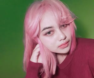 hairstyle, hair color, and pink hair image