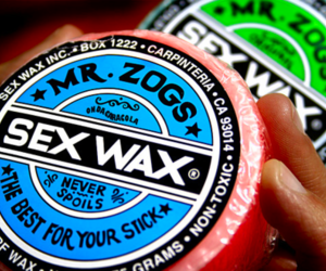 tropical and sex wax image