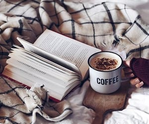 autumn, books, and cold image