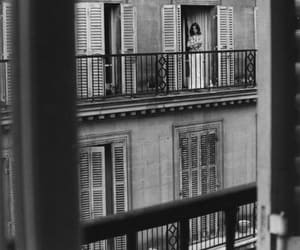 balcony and woman image